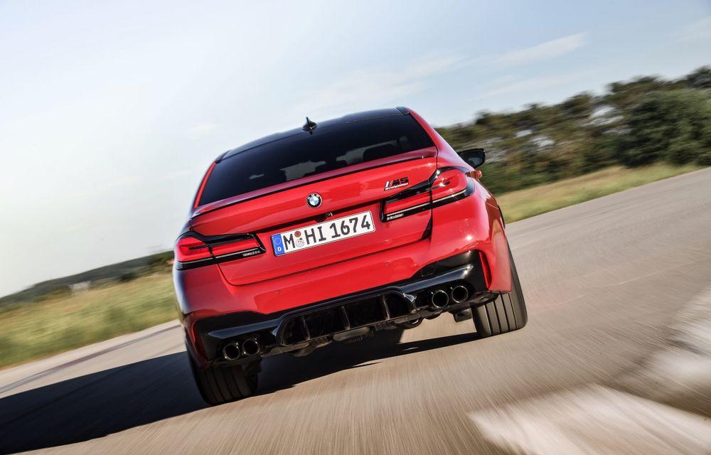 BMW a prezentat M5 și M5 Competition facelift: noutăți estetice și ecran central de 12.3 inch pentru versiunile de performanță - Poza 16