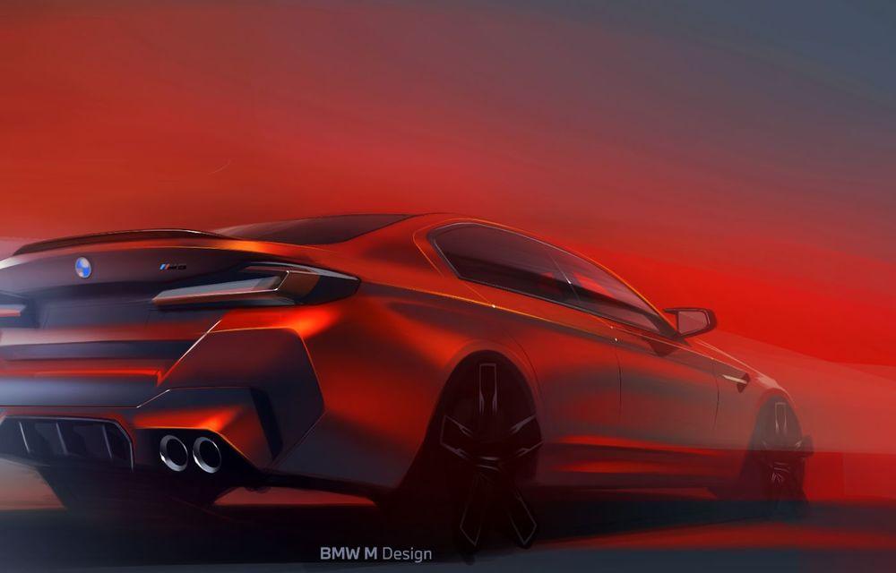BMW a prezentat M5 și M5 Competition facelift: noutăți estetice și ecran central de 12.3 inch pentru versiunile de performanță - Poza 79
