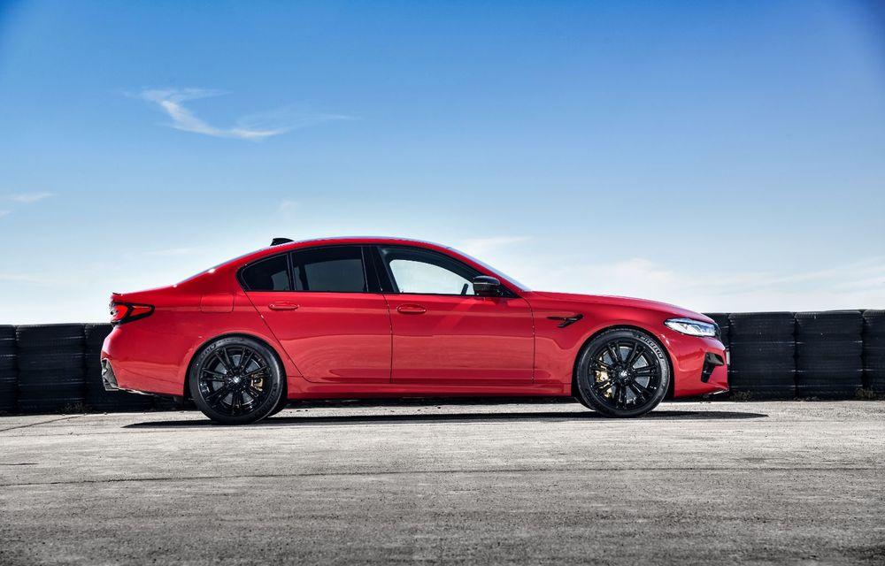 BMW a prezentat M5 și M5 Competition facelift: noutăți estetice și ecran central de 12.3 inch pentru versiunile de performanță - Poza 83