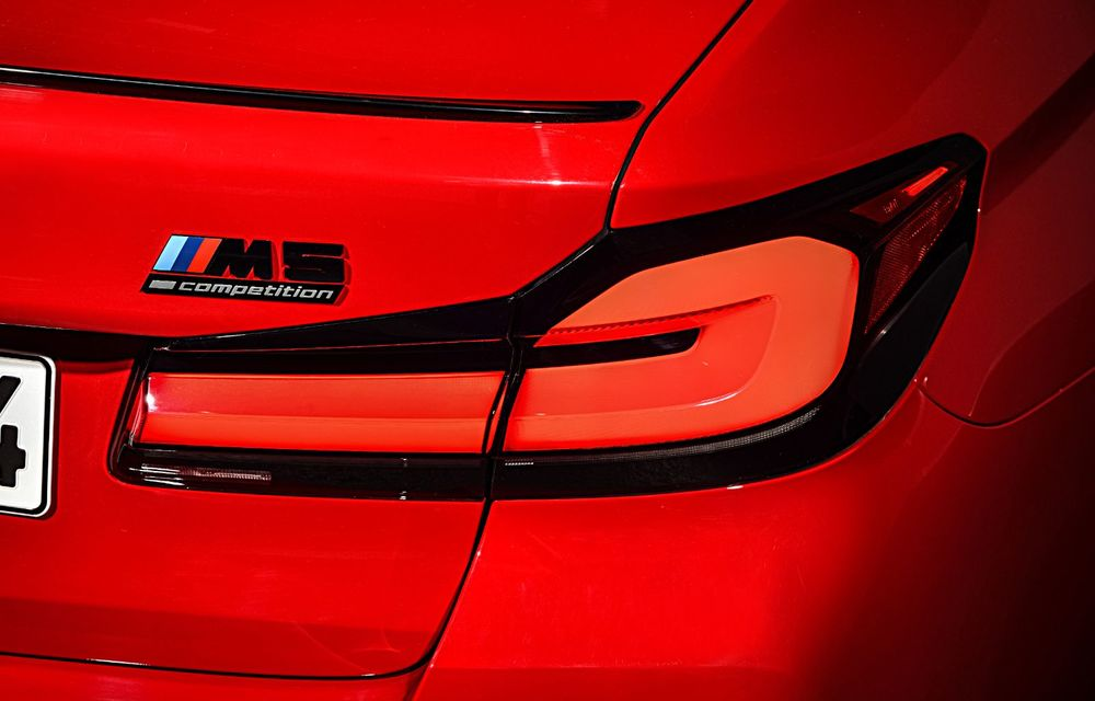 BMW a prezentat M5 și M5 Competition facelift: noutăți estetice și ecran central de 12.3 inch pentru versiunile de performanță - Poza 39