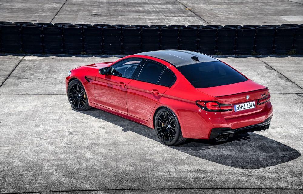 BMW a prezentat M5 și M5 Competition facelift: noutăți estetice și ecran central de 12.3 inch pentru versiunile de performanță - Poza 22