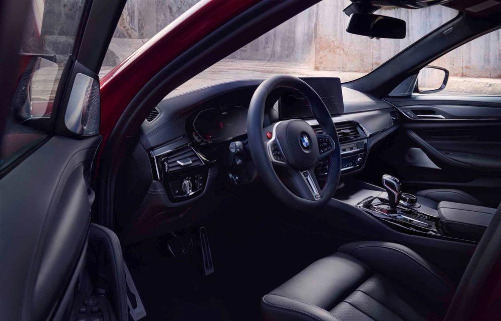 BMW a prezentat M5 și M5 Competition facelift: noutăți estetice și ecran central de 12.3 inch pentru versiunile de performanță - Poza 76