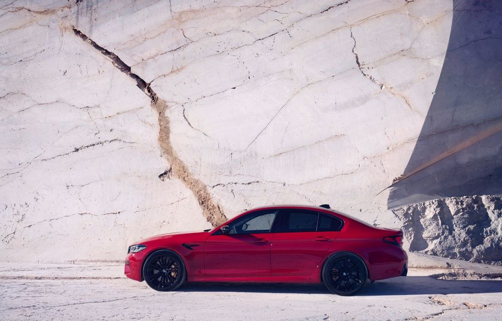 BMW a prezentat M5 și M5 Competition facelift: noutăți estetice și ecran central de 12.3 inch pentru versiunile de performanță - Poza 51