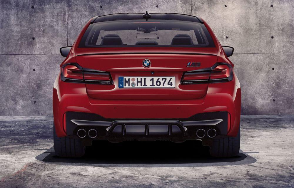 BMW a prezentat M5 și M5 Competition facelift: noutăți estetice și ecran central de 12.3 inch pentru versiunile de performanță - Poza 49