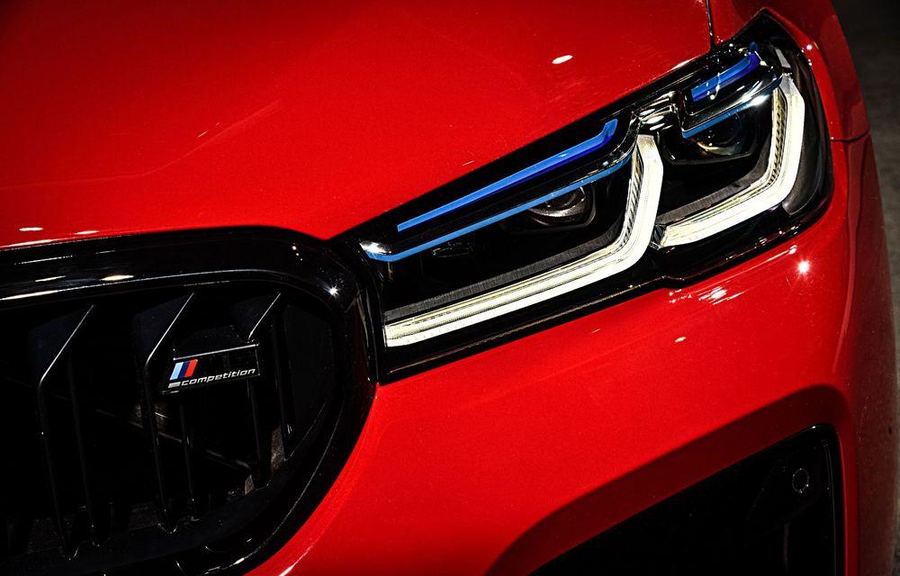 BMW a prezentat M5 și M5 Competition facelift: noutăți estetice și ecran central de 12.3 inch pentru versiunile de performanță - Poza 37