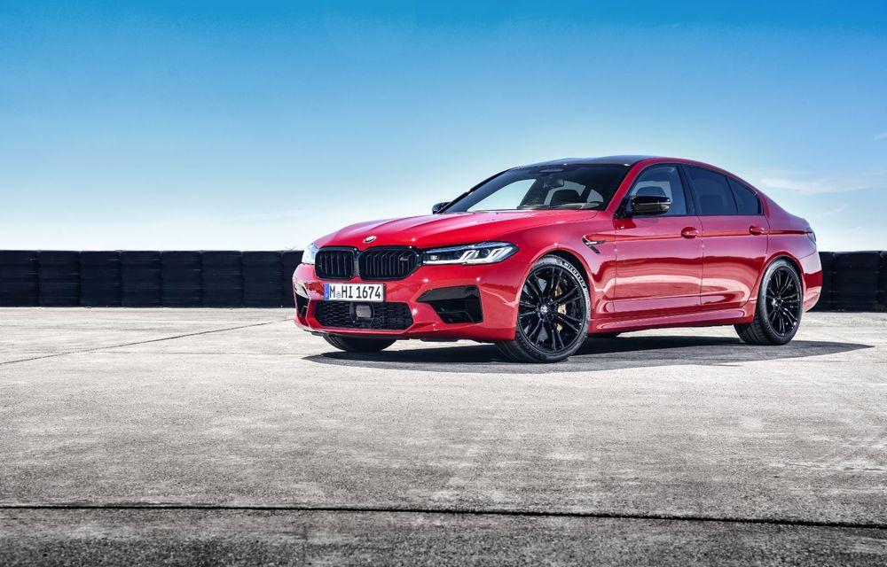 BMW a prezentat M5 și M5 Competition facelift: noutăți estetice și ecran central de 12.3 inch pentru versiunile de performanță - Poza 21