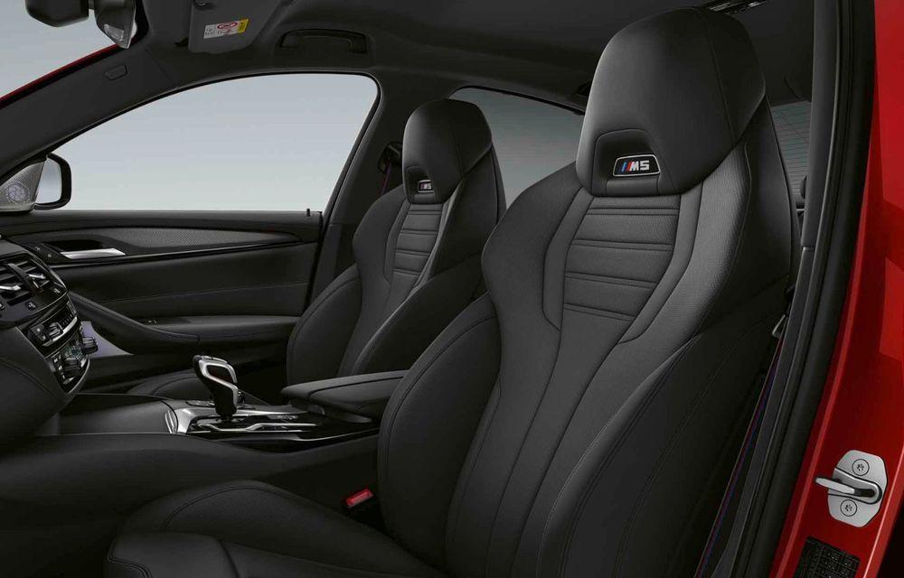 BMW a prezentat M5 și M5 Competition facelift: noutăți estetice și ecran central de 12.3 inch pentru versiunile de performanță - Poza 73