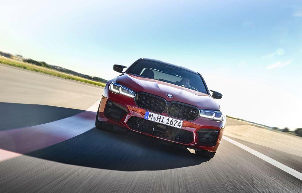 BMW a prezentat M5 și M5 Competition facelift: noutăți estetice și ecran central de 12.3 inch pentru versiunile de performanță - Poza 4