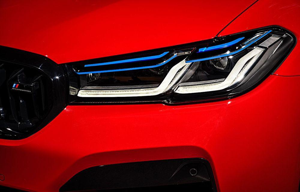 BMW a prezentat M5 și M5 Competition facelift: noutăți estetice și ecran central de 12.3 inch pentru versiunile de performanță - Poza 38