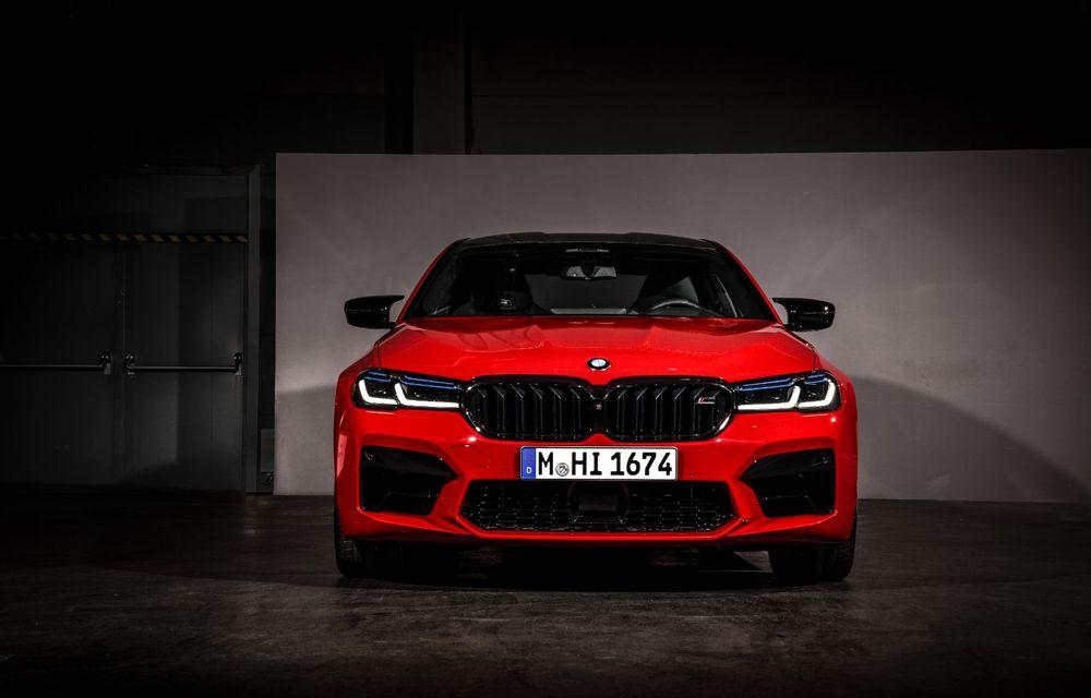 BMW a prezentat M5 și M5 Competition facelift: noutăți estetice și ecran central de 12.3 inch pentru versiunile de performanță - Poza 25