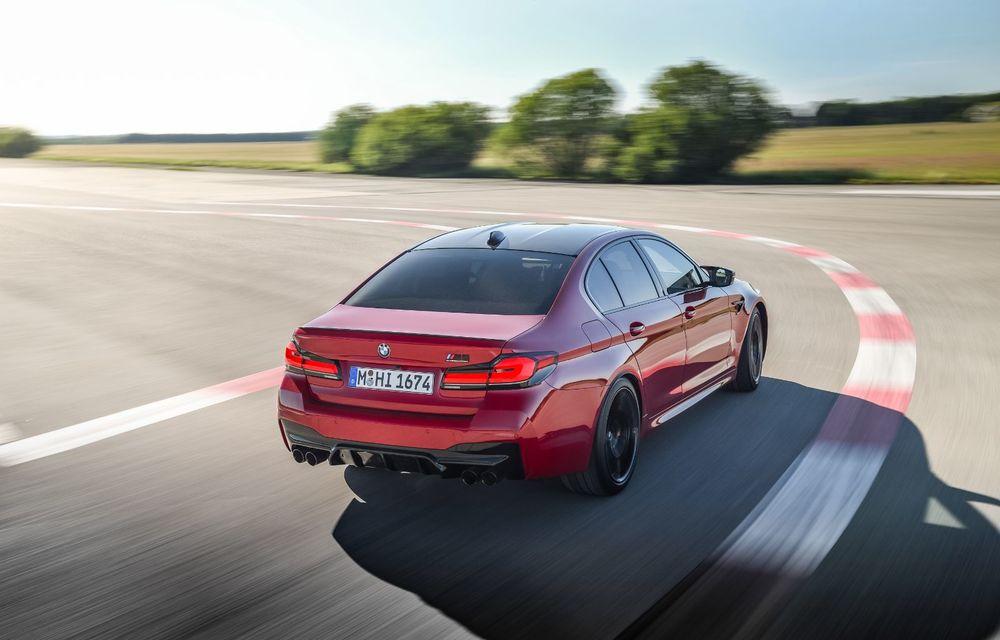 BMW a prezentat M5 și M5 Competition facelift: noutăți estetice și ecran central de 12.3 inch pentru versiunile de performanță - Poza 14