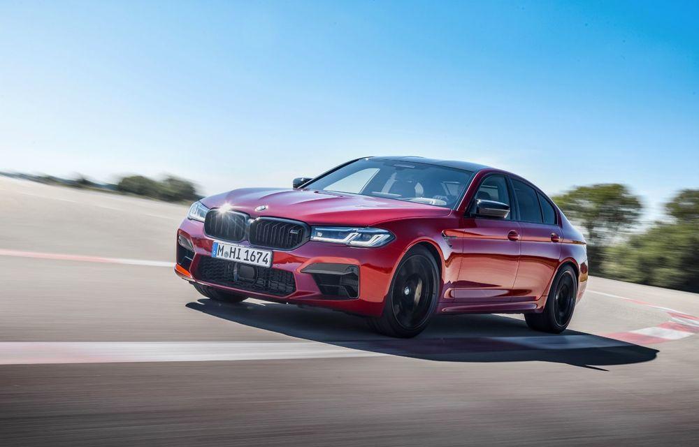 BMW a prezentat M5 și M5 Competition facelift: noutăți estetice și ecran central de 12.3 inch pentru versiunile de performanță - Poza 5
