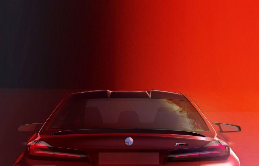 BMW a prezentat M5 și M5 Competition facelift: noutăți estetice și ecran central de 12.3 inch pentru versiunile de performanță - Poza 84