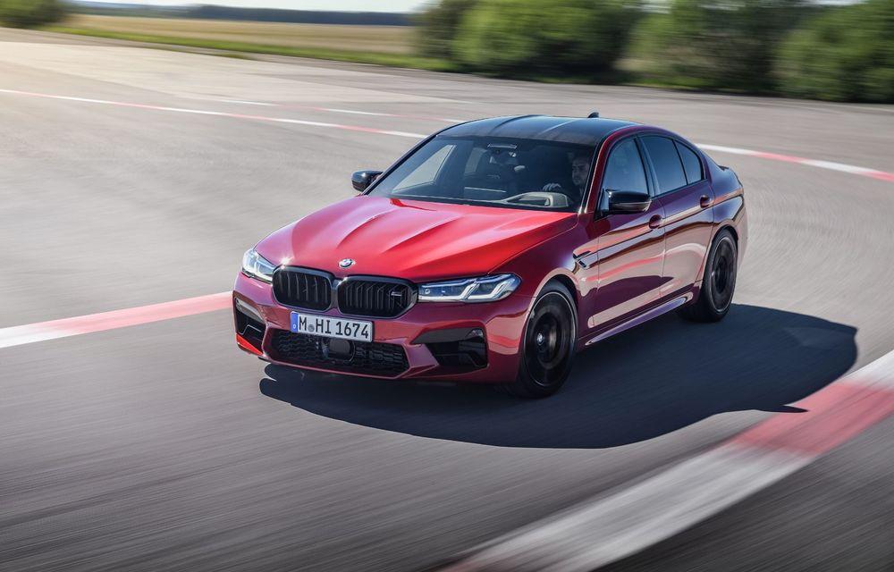 BMW a prezentat M5 și M5 Competition facelift: noutăți estetice și ecran central de 12.3 inch pentru versiunile de performanță - Poza 6