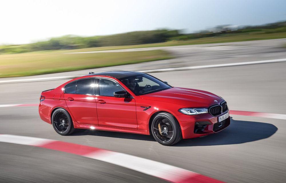 BMW a prezentat M5 și M5 Competition facelift: noutăți estetice și ecran central de 12.3 inch pentru versiunile de performanță - Poza 8