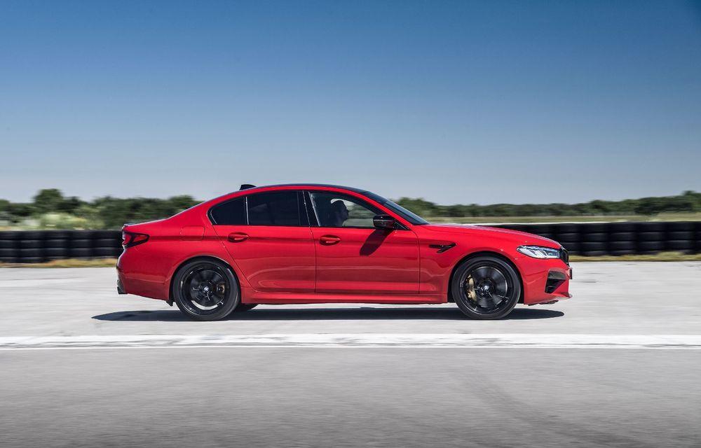 BMW a prezentat M5 și M5 Competition facelift: noutăți estetice și ecran central de 12.3 inch pentru versiunile de performanță - Poza 17