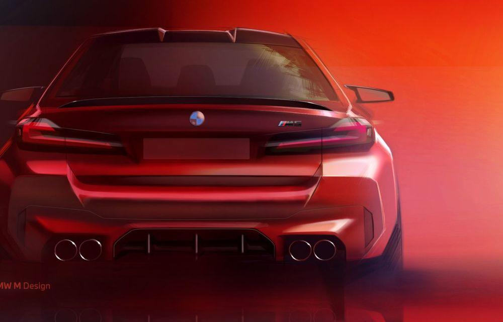 BMW a prezentat M5 și M5 Competition facelift: noutăți estetice și ecran central de 12.3 inch pentru versiunile de performanță - Poza 80