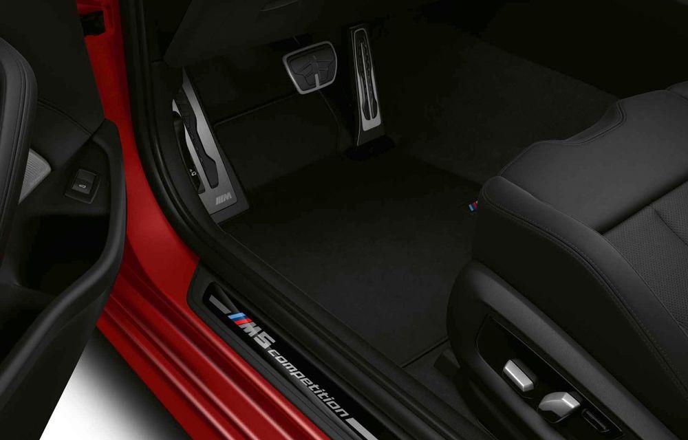 BMW a prezentat M5 și M5 Competition facelift: noutăți estetice și ecran central de 12.3 inch pentru versiunile de performanță - Poza 75