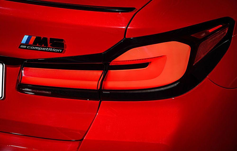 BMW a prezentat M5 și M5 Competition facelift: noutăți estetice și ecran central de 12.3 inch pentru versiunile de performanță - Poza 40