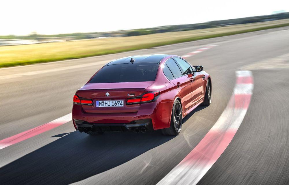 BMW a prezentat M5 și M5 Competition facelift: noutăți estetice și ecran central de 12.3 inch pentru versiunile de performanță - Poza 13