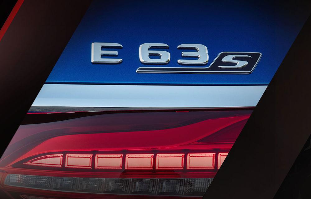 Prima imagine teaser cu viitorul Mercedes-AMG E63 S facelift: modelul de performanță va fi prezentat în 18 iunie - Poza 1