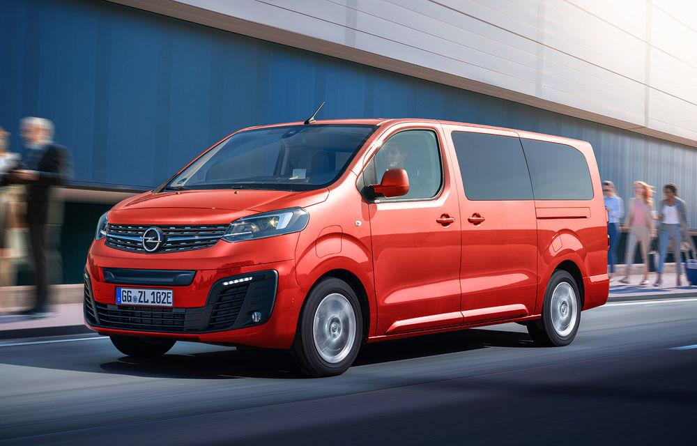 Opel a prezentat versiunea electrică a utilitarei de persoane Zafira Life: autonomie de până la 330 de kilometri și motor cu 136 CP - Poza 1