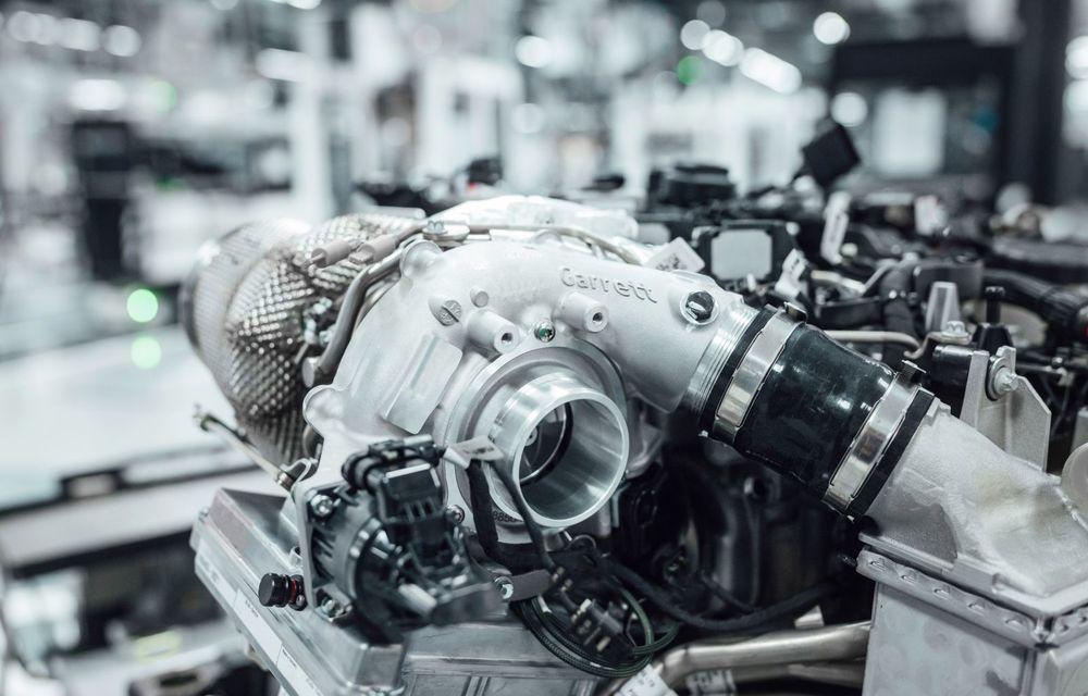 Mercedes-AMG oferă detalii despre o nouă turbină asistată electric: tehnologia a fost preluată din Formula 1 - Poza 4