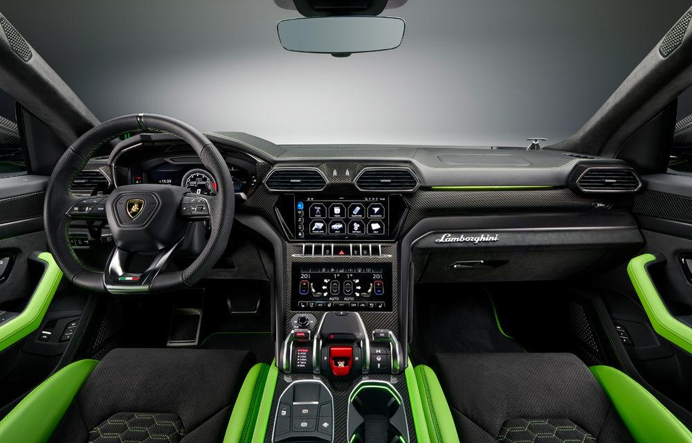 Îmbunătățiri pentru Lamborghini Urus: pachet de design Pearl Capsule, culori noi de caroserie și actualizări pentru sistemele de asistență - Poza 15