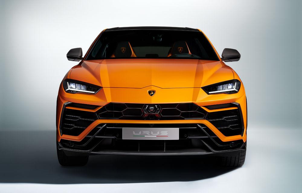 Îmbunătățiri pentru Lamborghini Urus: pachet de design Pearl Capsule, culori noi de caroserie și actualizări pentru sistemele de asistență - Poza 8
