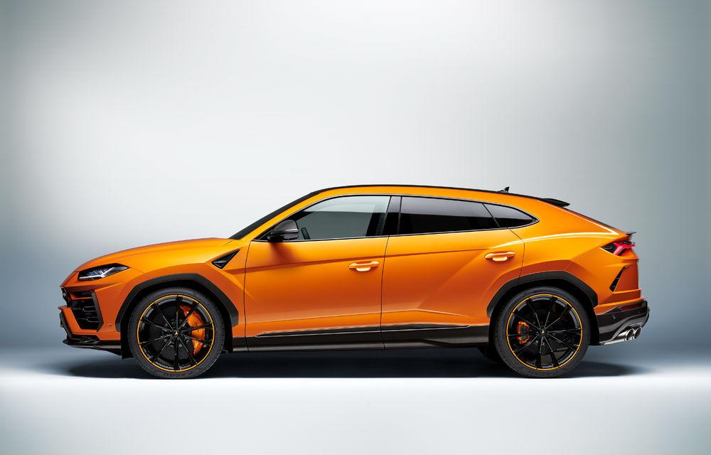 Îmbunătățiri pentru Lamborghini Urus: pachet de design Pearl Capsule, culori noi de caroserie și actualizări pentru sistemele de asistență - Poza 12