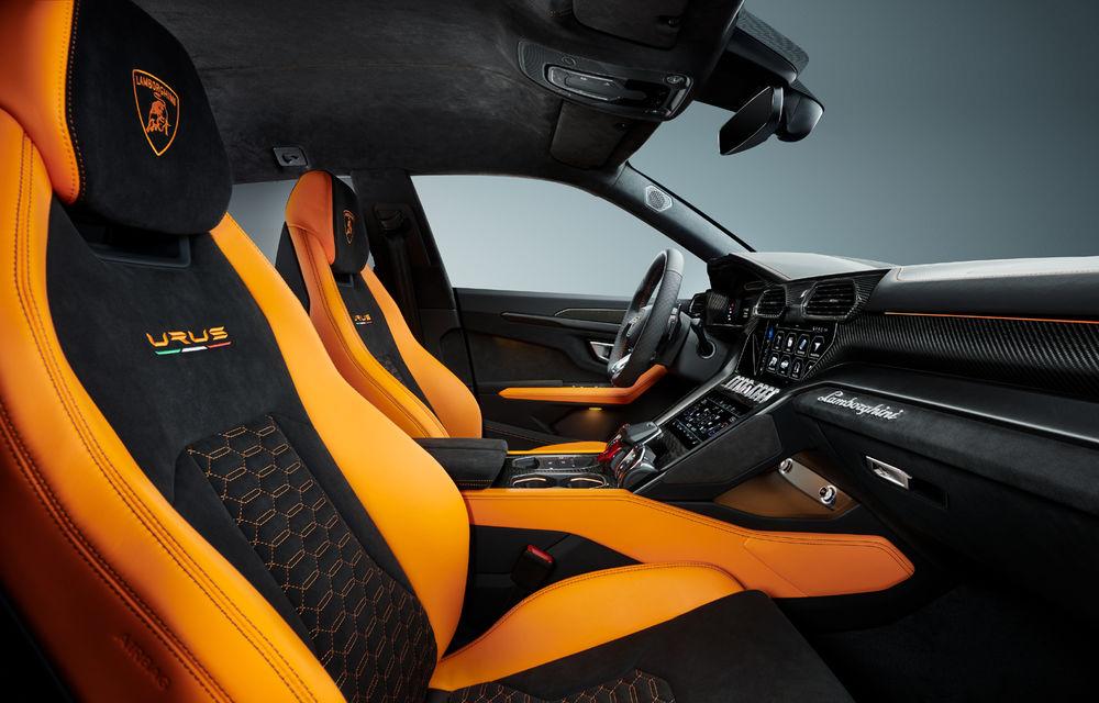 Îmbunătățiri pentru Lamborghini Urus: pachet de design Pearl Capsule, culori noi de caroserie și actualizări pentru sistemele de asistență - Poza 14
