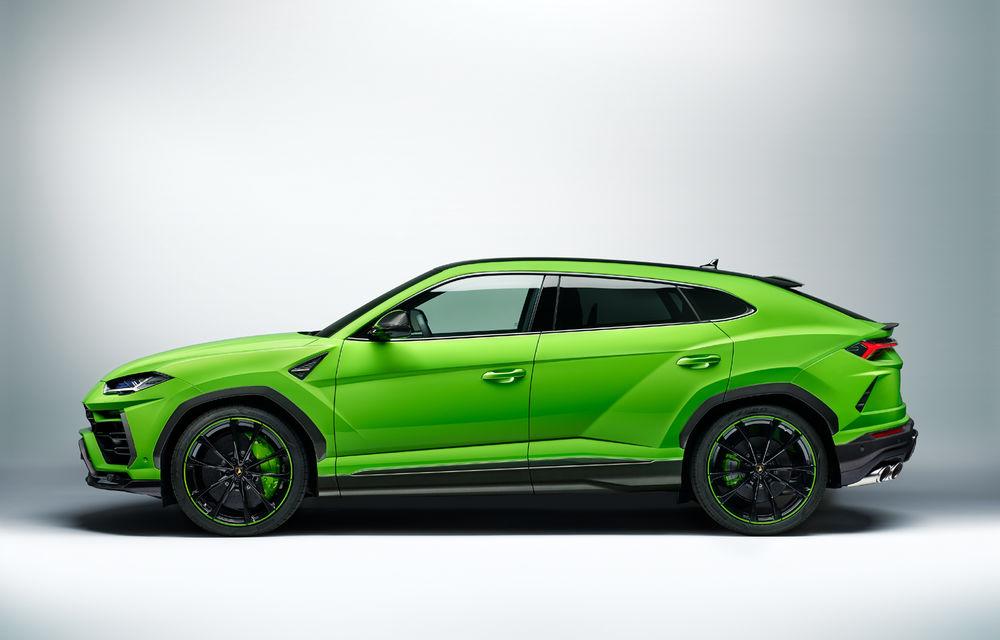 Îmbunătățiri pentru Lamborghini Urus: pachet de design Pearl Capsule, culori noi de caroserie și actualizări pentru sistemele de asistență - Poza 4