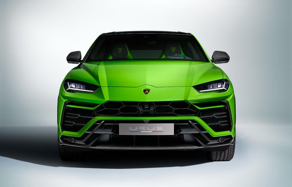 Îmbunătățiri pentru Lamborghini Urus: pachet de design Pearl Capsule, culori noi de caroserie și actualizări pentru sistemele de asistență - Poza 3