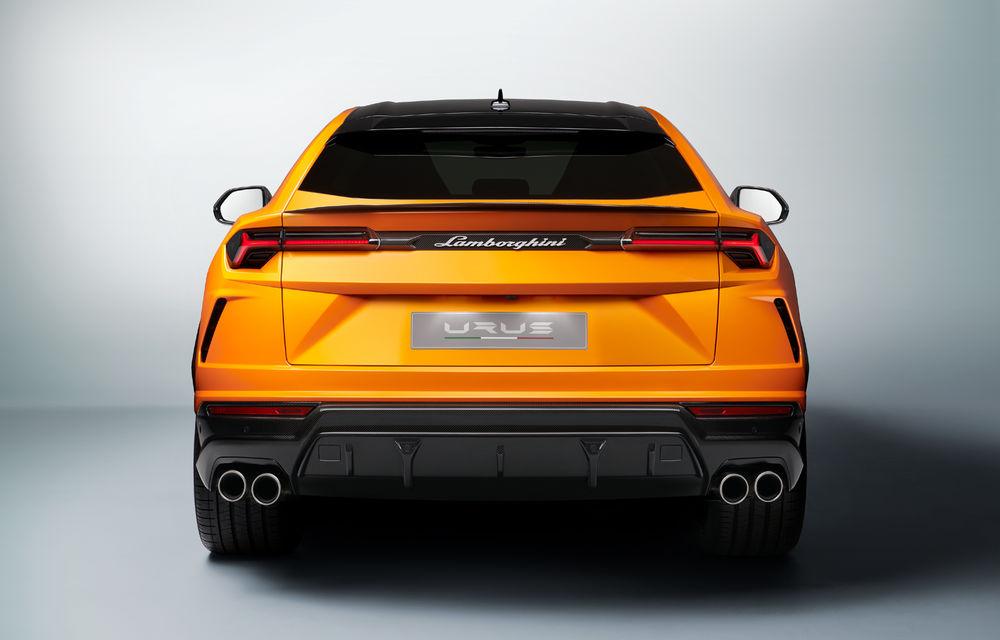 Îmbunătățiri pentru Lamborghini Urus: pachet de design Pearl Capsule, culori noi de caroserie și actualizări pentru sistemele de asistență - Poza 13