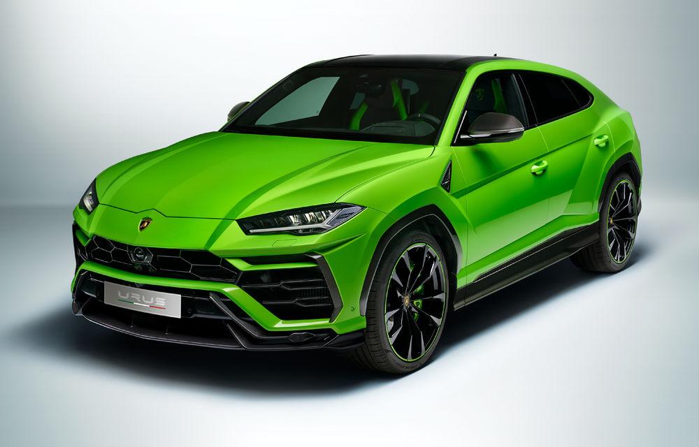 Îmbunătățiri pentru Lamborghini Urus: pachet de design Pearl Capsule, culori noi de caroserie și actualizări pentru sistemele de asistență - Poza 1