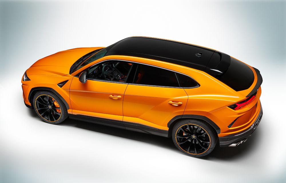 Îmbunătățiri pentru Lamborghini Urus: pachet de design Pearl Capsule, culori noi de caroserie și actualizări pentru sistemele de asistență - Poza 7