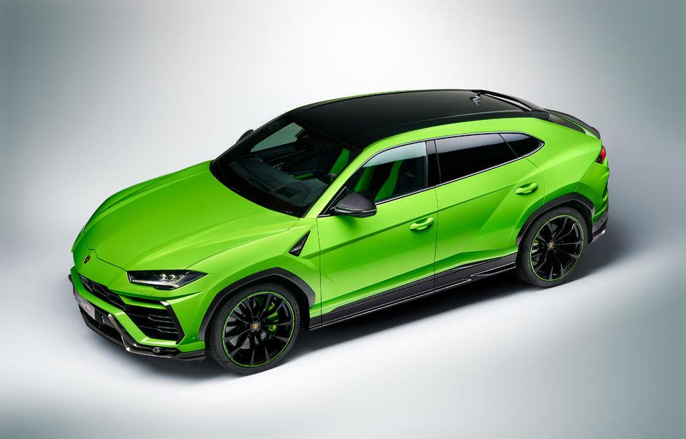 Îmbunătățiri pentru Lamborghini Urus: pachet de design Pearl Capsule, culori noi de caroserie și actualizări pentru sistemele de asistență - Poza 2