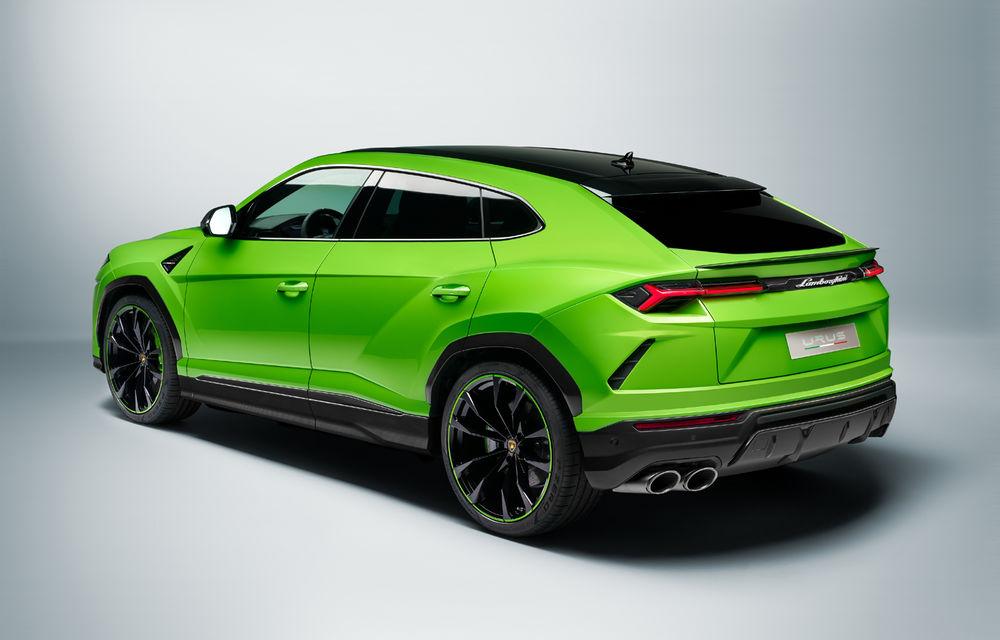 Îmbunătățiri pentru Lamborghini Urus: pachet de design Pearl Capsule, culori noi de caroserie și actualizări pentru sistemele de asistență - Poza 5