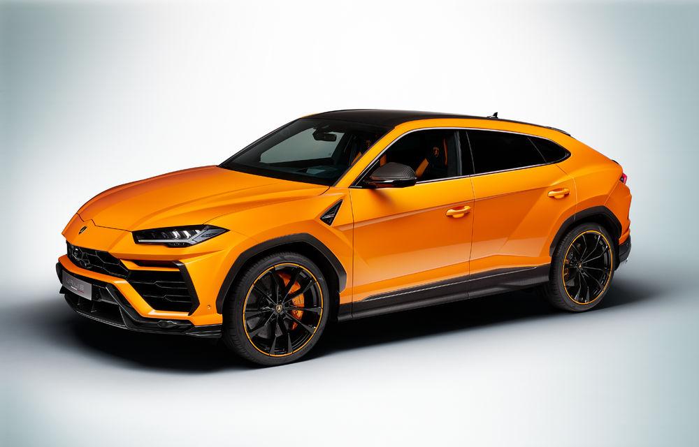 Îmbunătățiri pentru Lamborghini Urus: pachet de design Pearl Capsule, culori noi de caroserie și actualizări pentru sistemele de asistență - Poza 6