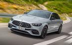 Mercedes a prezentat AMG E63 sedan și AMG E63 T-Modell facelift: noutăți estetice, sistem de infotainment MBUX și suspensie modificată