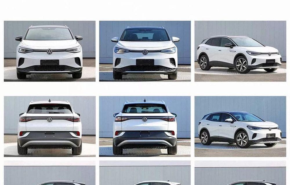 Primele imagini cu Volkswagen ID.4 au apărut pe internet: SUV-ul electric cu autonomie de 500 de kilometri va fi prezentat în acest an - Poza 3