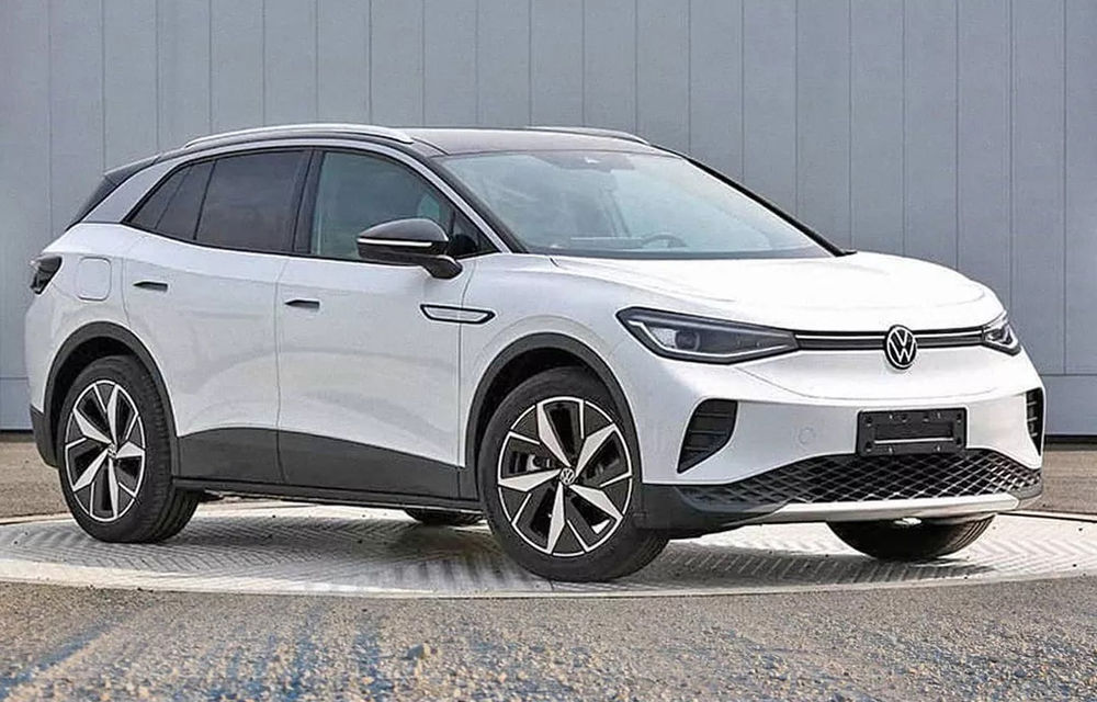 Primele imagini cu Volkswagen ID.4 au apărut pe internet: SUV-ul electric cu autonomie de 500 de kilometri va fi prezentat în acest an - Poza 1