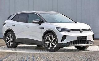 Primele imagini cu Volkswagen ID.4 au apărut pe internet: SUV-ul electric cu autonomie de 500 de kilometri va fi prezentat în acest an