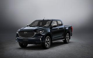 Mazda a prezentat a treia generație a pick-up-ului BT-50: design nou și platformă Isuzu
