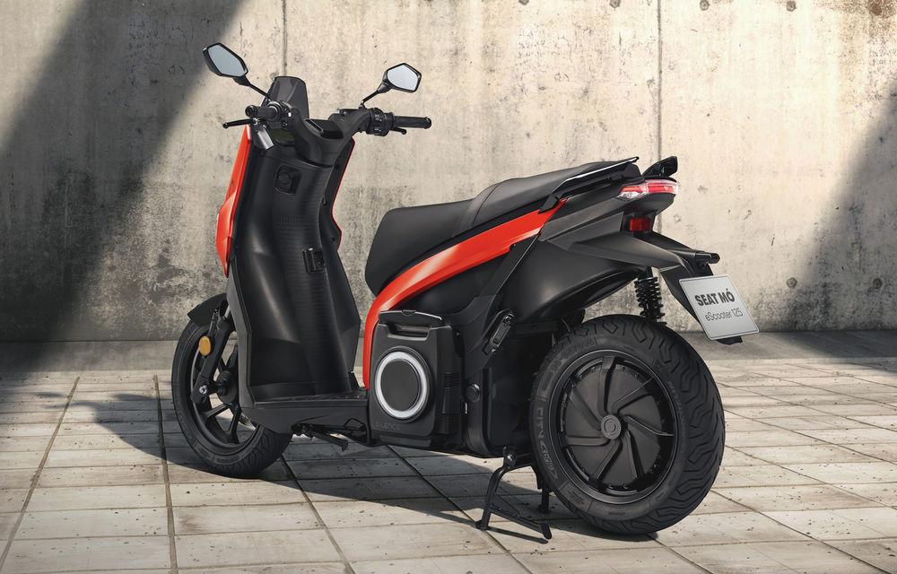 Seat lansează soluții de mobilitate urbană: scuter electric cu autonomie de 125 de kilometri și trotinetă electrică - Poza 3
