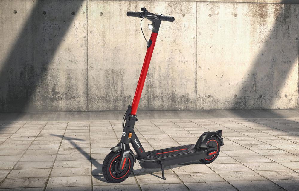 Seat lansează soluții de mobilitate urbană: scuter electric cu autonomie de 125 de kilometri și trotinetă electrică - Poza 7