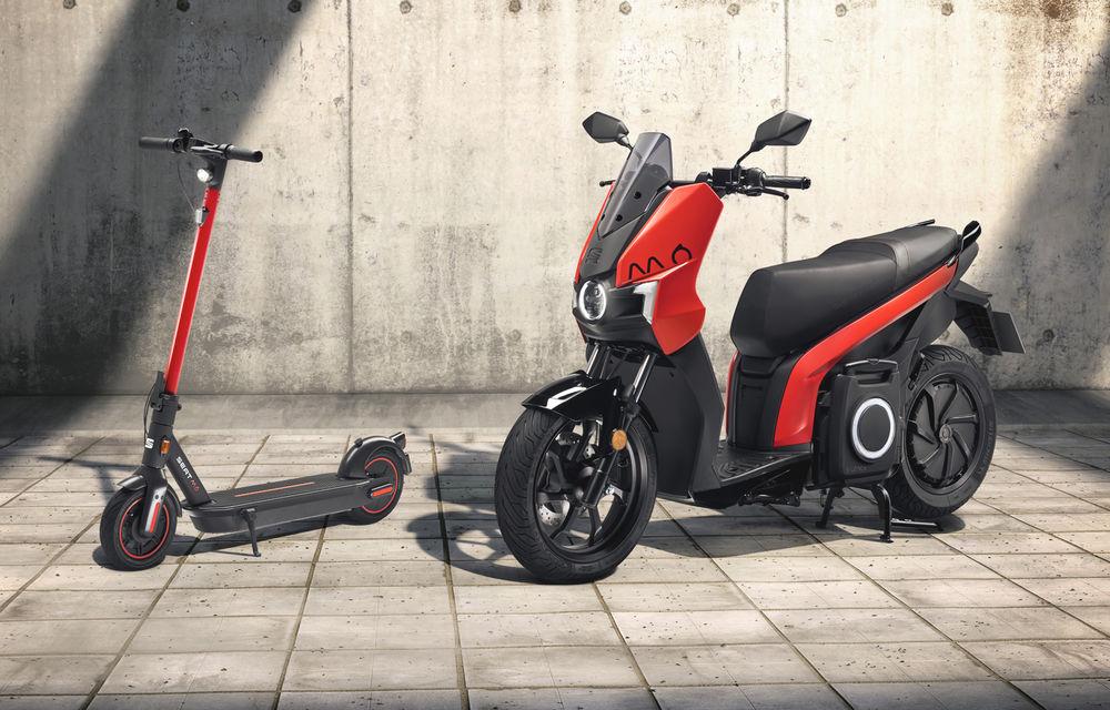 Seat lansează soluții de mobilitate urbană: scuter electric cu autonomie de 125 de kilometri și trotinetă electrică - Poza 1