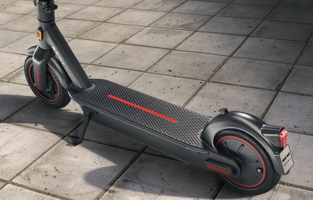 Seat lansează soluții de mobilitate urbană: scuter electric cu autonomie de 125 de kilometri și trotinetă electrică - Poza 9