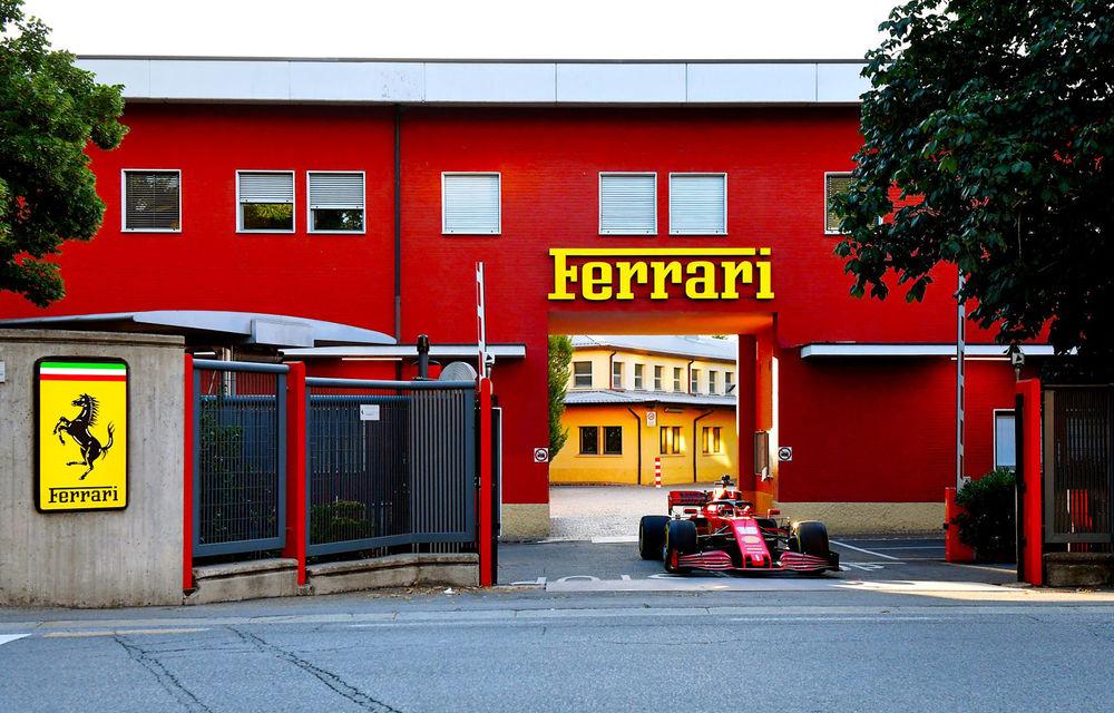 """Leclerc a testat monopostul Ferrari pe străzile din Maranello: """"M-am simțit ca acasă în cockpit"""" - Poza 1"""