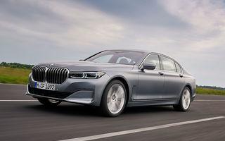 Noutăți pentru BMW Seria 7 facelift: motoare diesel cu sistem mild-hybrid și direcție integrală îmbunătățită